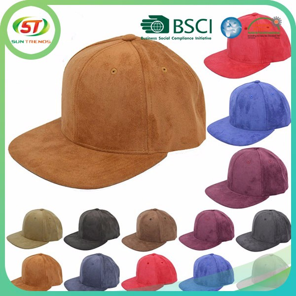 wool free pattern sports caps and hats manufacturer suede baseball cap