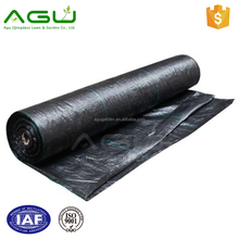 Black/green Polypropylene Woven Weed Mat ground cover weed control mat rubber