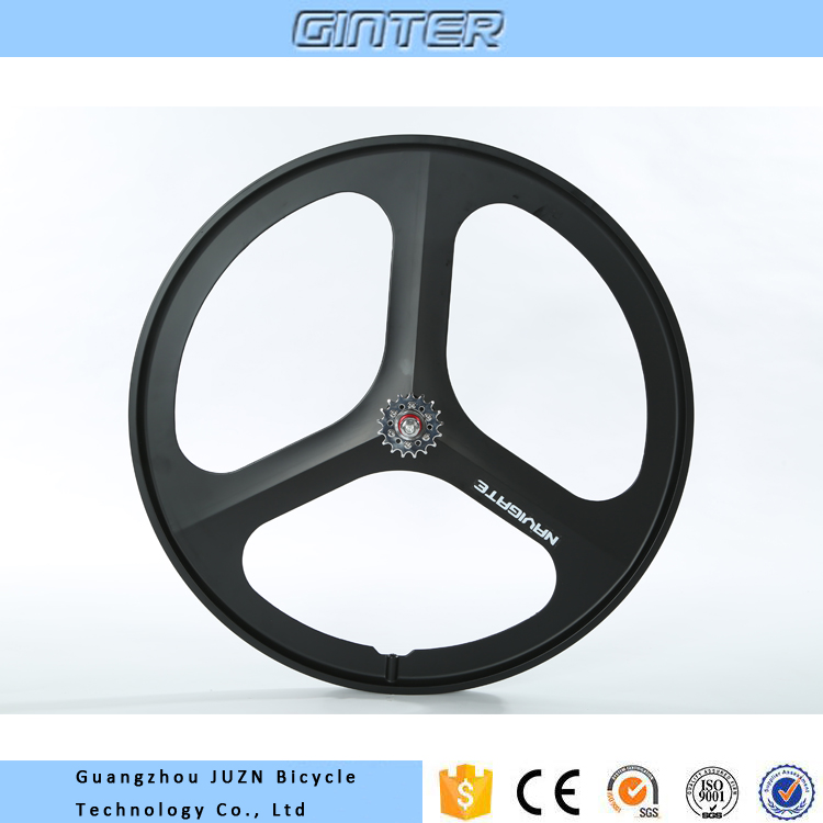 Good quality 700C 3 spoke bicycle wheel
