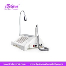 New Design 3 in 1 Multi Function Nail Dust Collector Vacuum with LED Table lamp