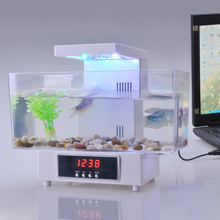 Decorative small usb charger fake fish aquarium