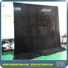 pipe and drape wedding backdrop/ceiling drapery
