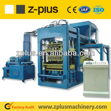 Mechanical system QTY4-35 concrete /cement block making machine