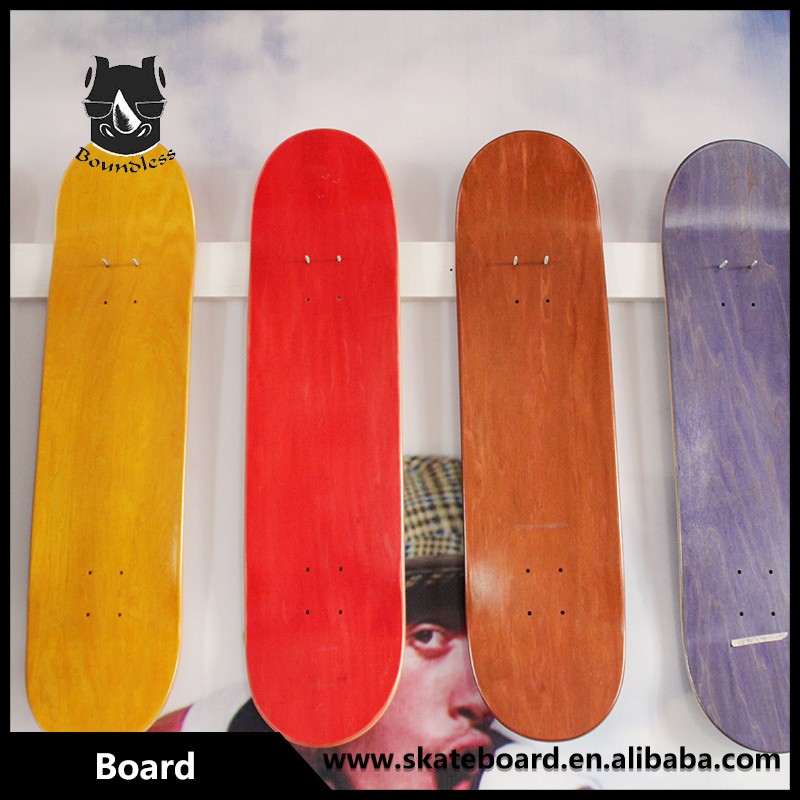 Cold Press Canadian Maple Custom Skateboard Deck