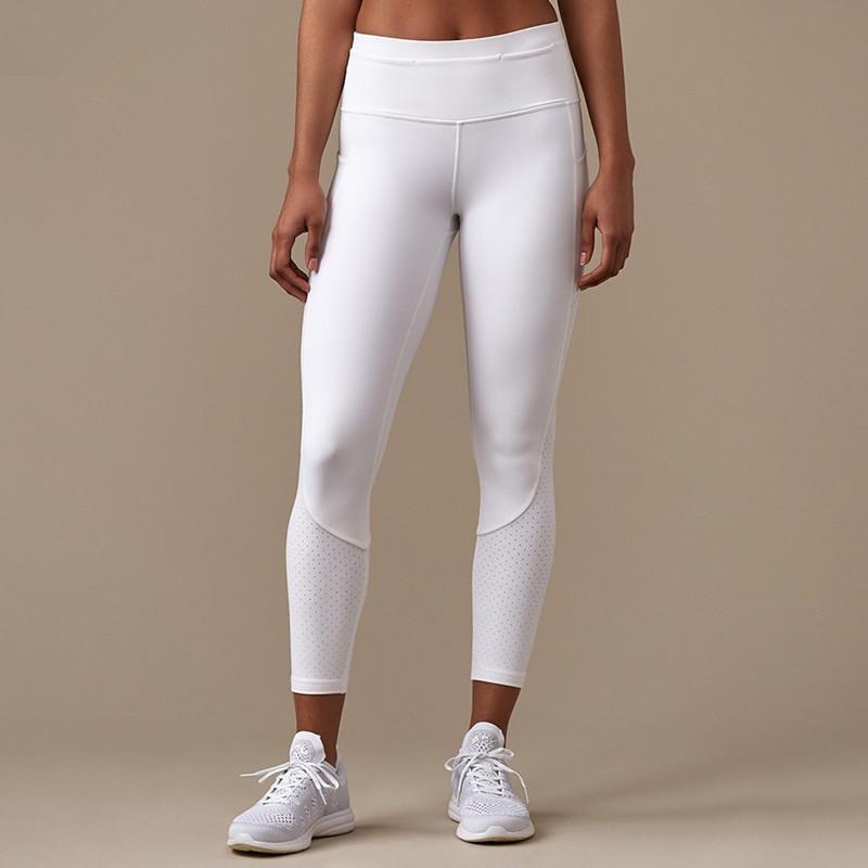 31c1613aa9bd6 Non See Through High Elasticity Leggings Cheap White Yoga Pants ...