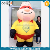 Hot sale advertising inflatable hero,screen character cartoon /inflatable replicas cartoon,costume/inflatable moving cartoon