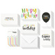 Custom printing great simple happy birthday greeting card for friend