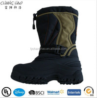 Fashion Men outdoor shoes winter cheap snow warm boots waterproof CH-2041