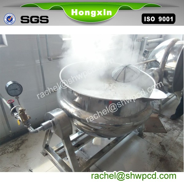 big industrial steam cooking pot commercial cooking pots