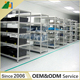 Nanjing Jinhui Light Duty Warehouse Adjustable Stainless Steel Storage Metal Shelf