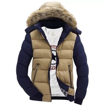 2019 wholesale <strong>men</strong> hooded coat winter down <strong>jacket</strong> cotton <strong>jacket</strong>,softshell cotton <strong>jacket</strong>