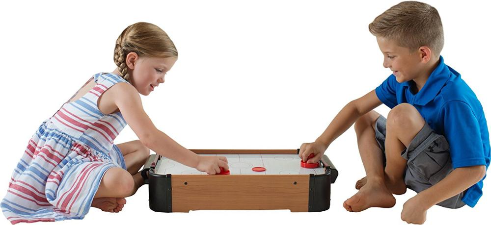 Table Top Air Hockey White Color Mini Games