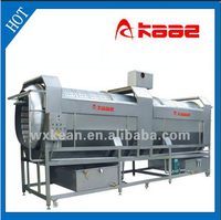 Fruit and vegetable Roller typer washer/roller type washing machine/rolling type washer