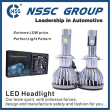 High Quality Car Led Headlight & 9005/9006/H4-hi/lo H7 H8 H9 H11 Head Light And Fog Lamp 50w 2500lm Car Led Headlight