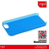 durable matte rubberized crystal cell phone case for iphone 5
