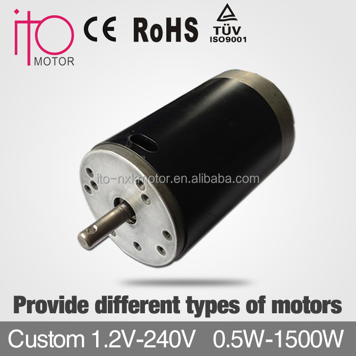 High Voltage 180v Low Speed 2000rpm Pmdc Motors Brushless