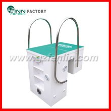 Pool equipment wall mounted intergrative water filter (