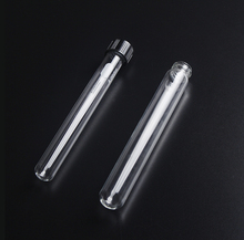 Laboratory Borosilicate Glass 30ml Culture Tubes with Screw Cap