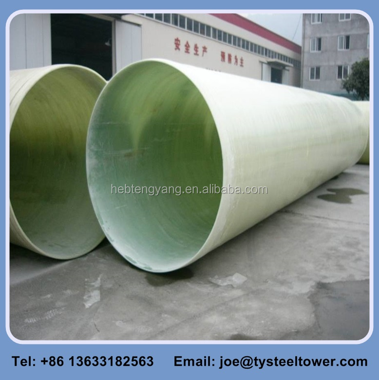FRP GRP Fiberglass Composite Pressure Epoxy Resin Oil Pipes
