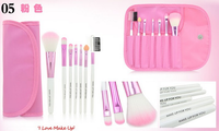 Makeup Brushes Manufacturers China 7 Piece Cheap Makeup Brushes Foundation Eyeshadow Blusher With Bag