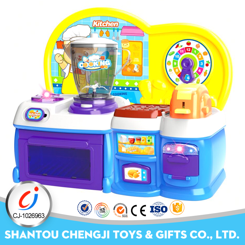 2017 Electric smart kitchen toys play set for kids pretend play games