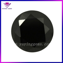 black diamond cz crystal beads round gemstone type for painting