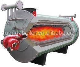Horizontal type 350kw Gas oil fired Thermal fluid oil heater boiler