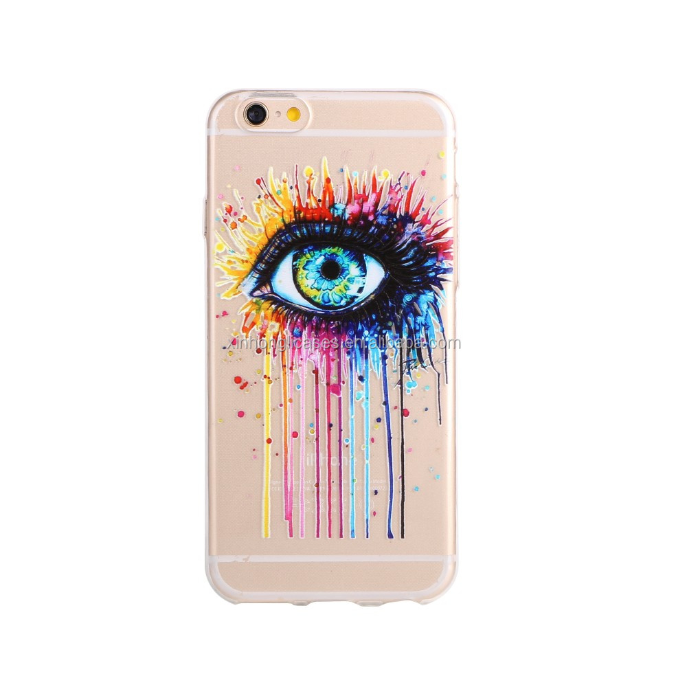 Newest TPU UV Printing Case for Iphone 6 support small quantity custom design
