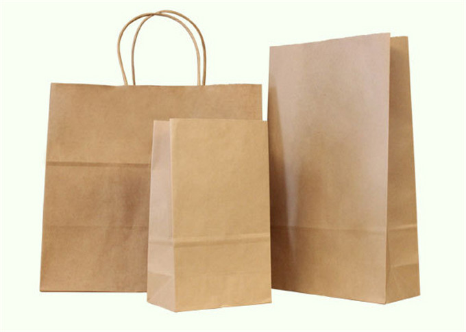 Hot Selling wholesale 2016 hot sale kraft paper shopping bag