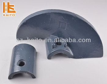Asphalt Paving Equipment Spare Parts Rotary Auger Tips