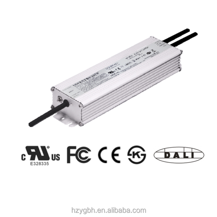 EUD-200SxxxBT Inventronics Dim-to-off DALI Dimming LED Driver 200W/ 150W/ 180W IP67
