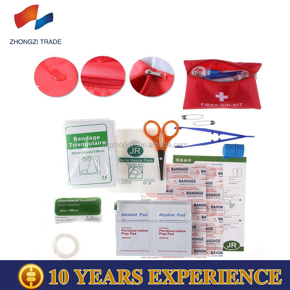 2017 Promotional Medical Adhesive Emergency Survival First Aid Kit