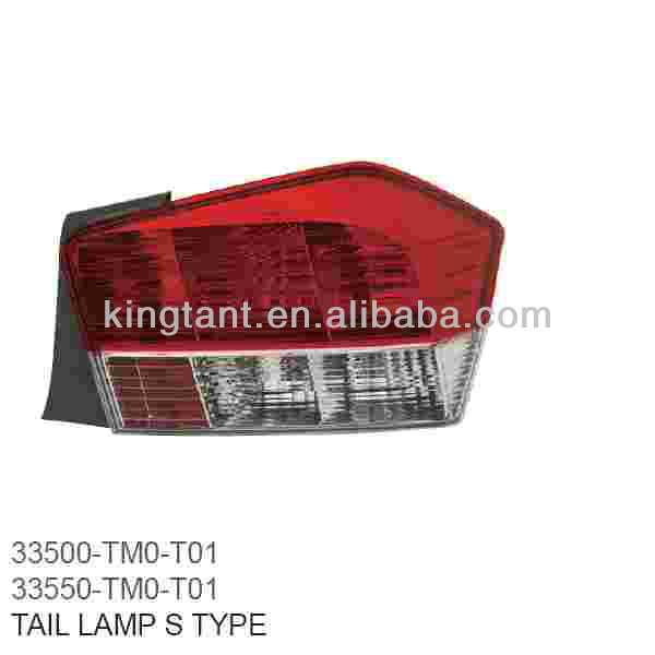 TAIL LAMP FOR HONDA CITY 2008-10 S TYPE, FOR USED CAR OR NEW CAR
