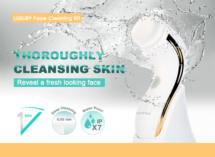 Electric Rotating Rechargeable Deep Facial Cleansing Blackhead