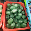 50mm natural rainbow fluorite stone crystal yoni eggs