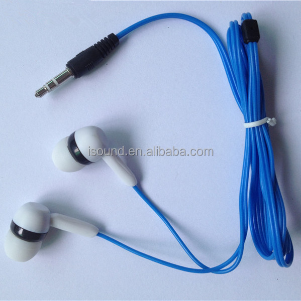 Hot sale new <strong>manufacturing</strong> the headphone gaming devices wired custom 3.5mm plug CE low cost in ear earpiece SP-<strong>R12</strong>