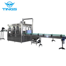Bottled Flavored Sparkling Water Filling Machine/ Full Automatic Carbonated Production Line/ Tings Sparkling Water Bottling Mach