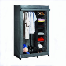 folding storage wardrobe/ folded non-woven fabric wardrobe/Furniture clothes wardrobe