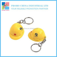 Wholesale China Novelty Souvenir Helmet Shape Led Keychain With Flashlight