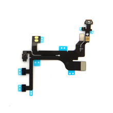China factory for iphone 5c switch button flash power On/Off flex cable