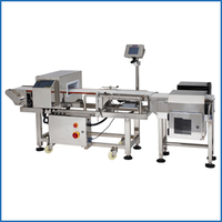 Combine Metal Detector And Check Weigher