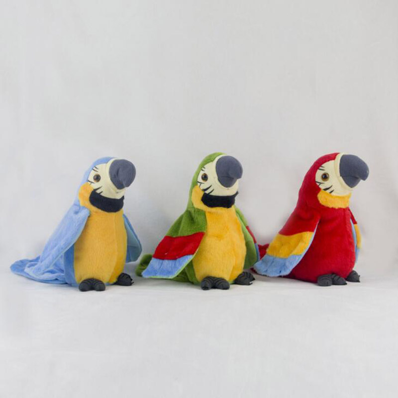 Creative Kids Toys Talking Parrot Plush Doll