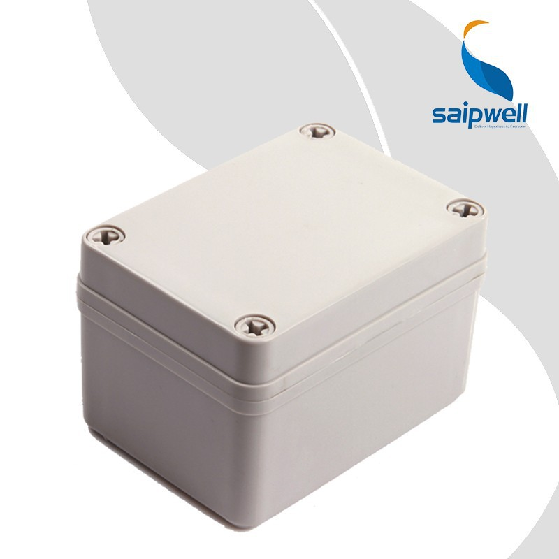 Saipwell China Wholesale Waterproof Electrical Plastic Enclosure Boxes Trade Assurance Electronic Cases