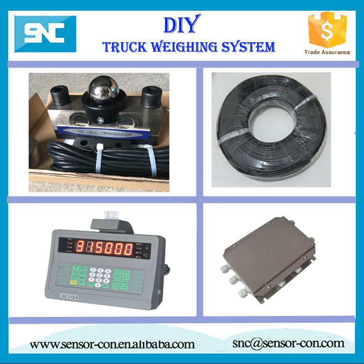 10ton load cell truck scale sensor, weighing indicator for truck weighing system