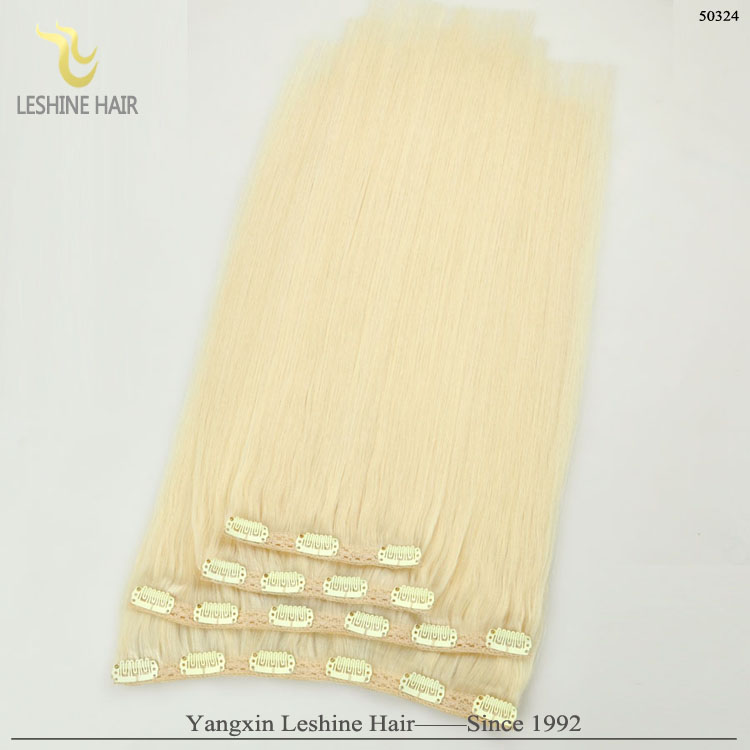 Thick End Double Drawn 200 Grams Clip In Hair Extensions