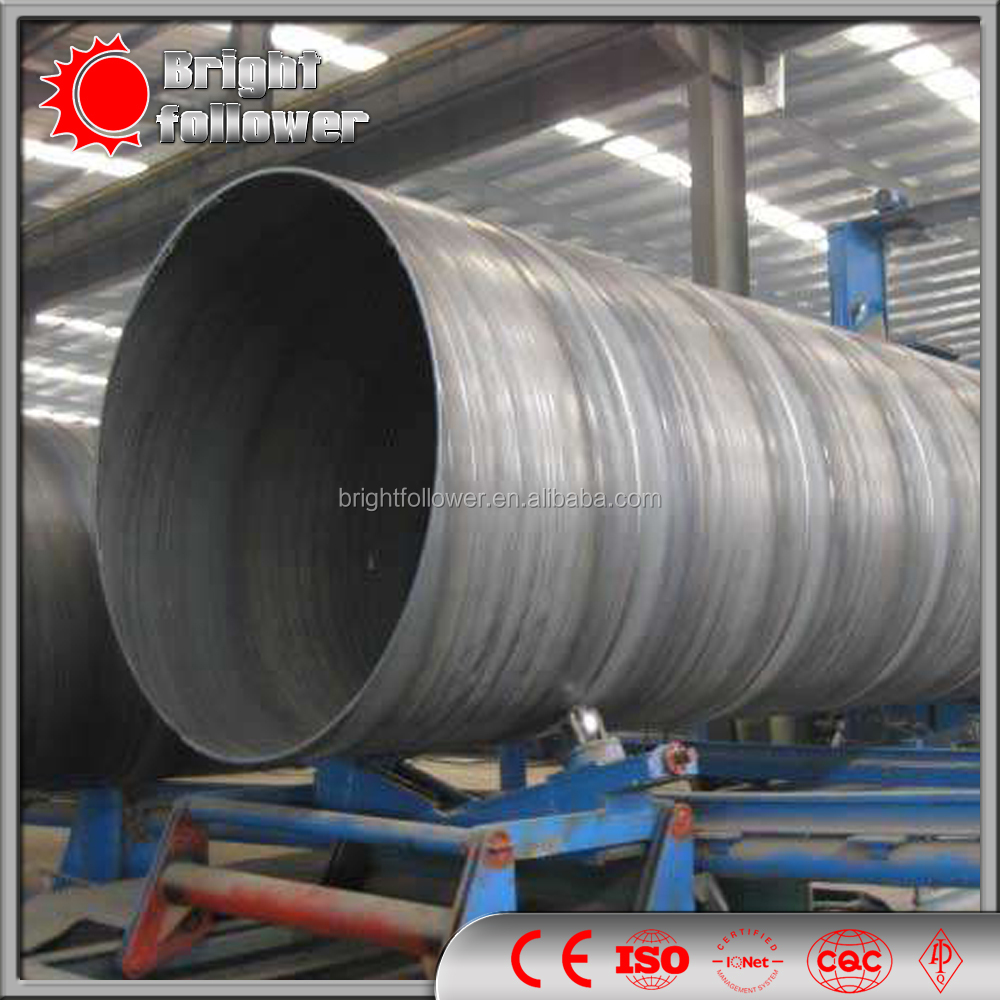 high quality carbon steel/cs supplier api GR.B SSAW PIPE