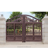 Hot Sale Automatic Iron Gates Models