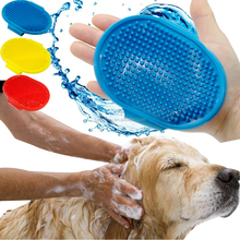 Dog Bath Cleaning & Grooming Tool Plastic Bath Massage Brush for Dogs