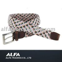 Lady Braided Belt And Knitted Belt And Webbing Belt