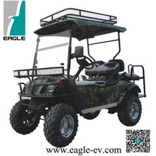 Electric hunting buggy, electric lifted golf cart, two seats
